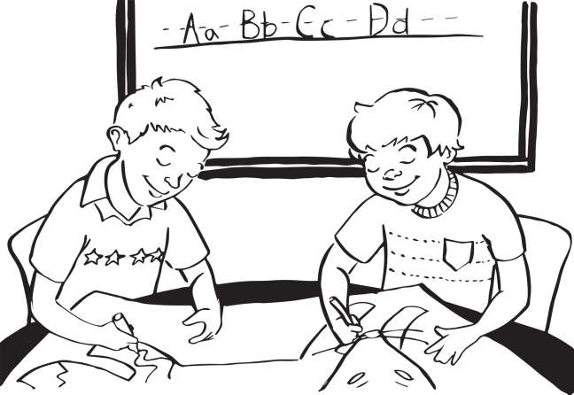 Education Comics illustrated by Grace Anderson