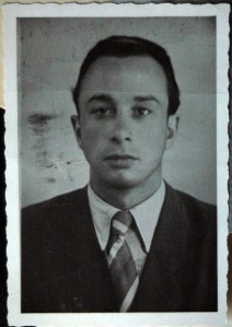 The granddaughter of a Holocaust survivor provided this image of her grandfather around age 22.