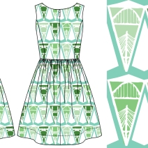 Repeating pattern design & mock up
